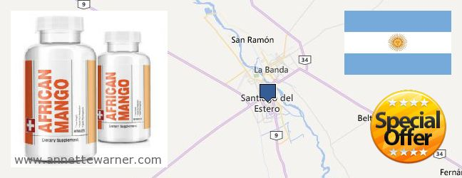 Best Place to Buy African Mango Extract Pills online Santiago del Estero, Argentina