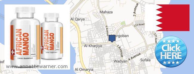 Where to Purchase African Mango Extract Pills online Sitrah (Marqūbān & Al-Ma'āmīr) [Sitra], Bahrain