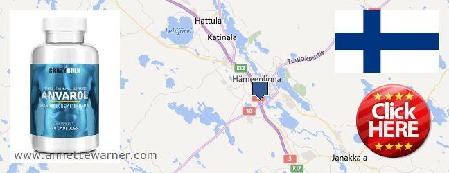 Where to Buy Anavar Steroids online Haemeenlinna, Finland