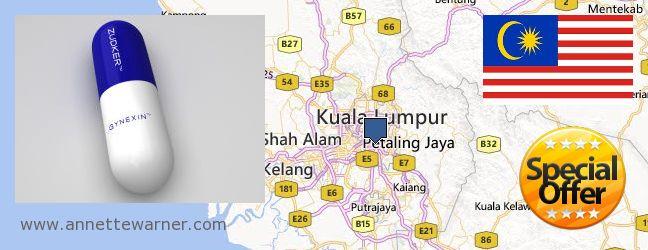 Where to Purchase Gynexin online Kuala Lumpur, Malaysia