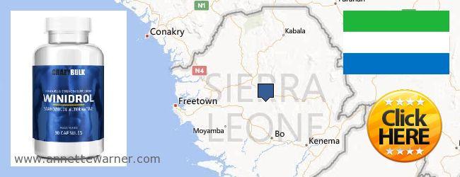 Where Can You Buy Winstrol Steroid online Sierra Leone