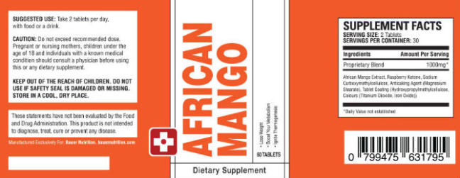 Buy African Mango Extract in Tonga
