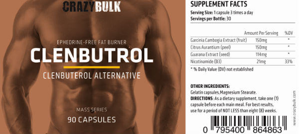 Buy Clenbuterol Steroids in Czech Republic