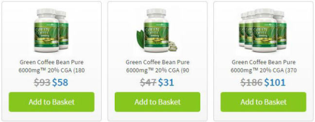 Where to Buy Green Coffee Bean Extract in United States