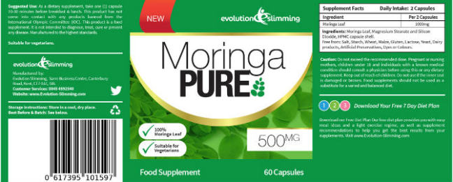 Purchase Moringa Capsules in Estonia