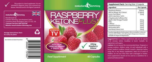 Purchase Raspberry Ketones in Estonia