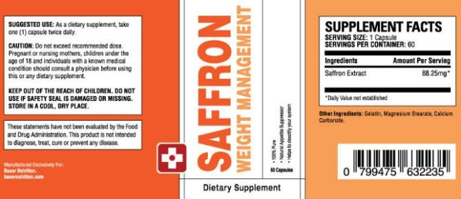 Purchase Saffron Extract in Tonga