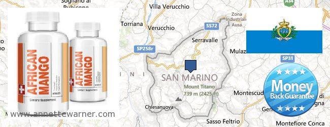 Buy African Mango Extract Pills online San Marino