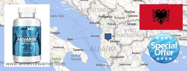 Where to Buy Anavar Steroids online Albania