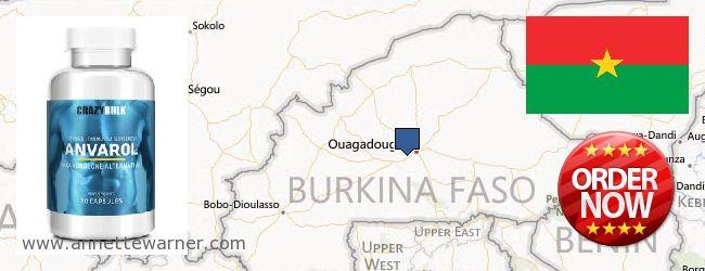 Buy Anavar Steroids online Burkina Faso