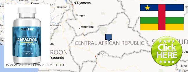 Buy Anavar Steroids online Central African Republic