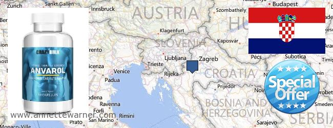 Where to Buy Anavar Steroids online Croatia