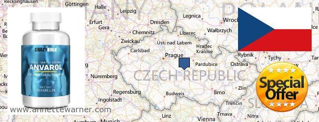 Purchase Anavar Steroids online Czech Republic
