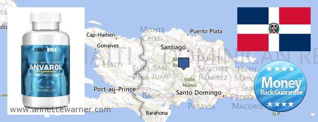 Buy Anavar Steroids online Dominican Republic