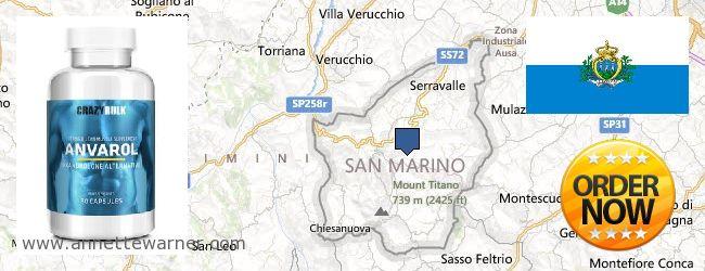 Where to Purchase Anavar Steroids online San Marino