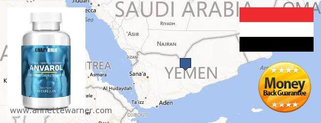 Purchase Anavar Steroids online Yemen