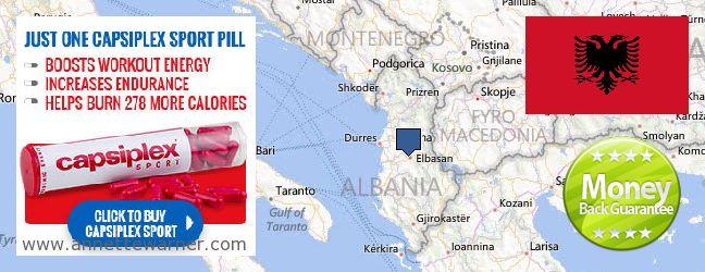 Buy Capsiplex online Albania