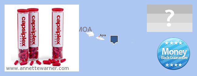 Where to Buy Capsiplex online American Samoa