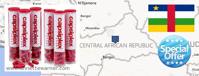 Where to Buy Capsiplex online Central African Republic
