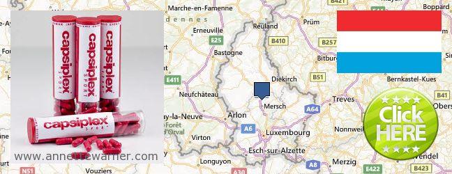 Buy Capsiplex online Luxembourg