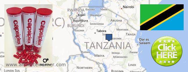 Purchase Capsiplex online Tanzania