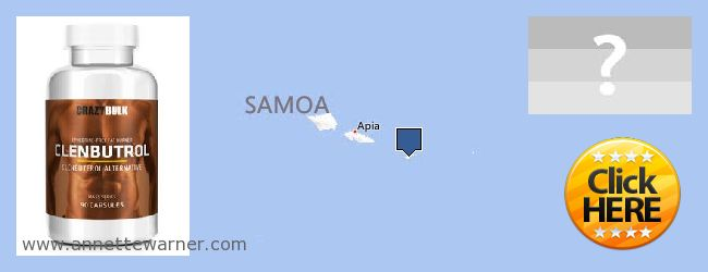 Where to Buy Clenbuterol Steroids online American Samoa