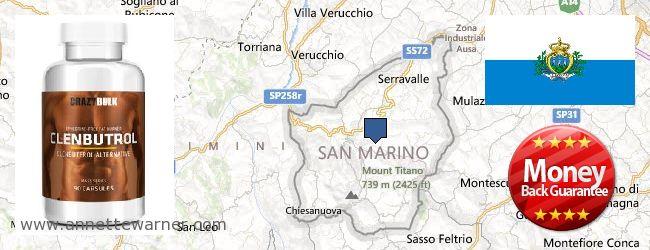 Where to Buy Clenbuterol Steroids online San Marino