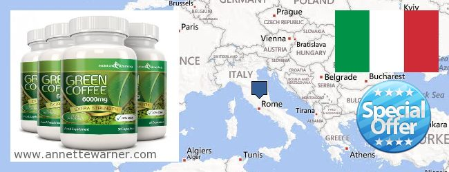 Purchase Green Coffee Bean Extract online Italy