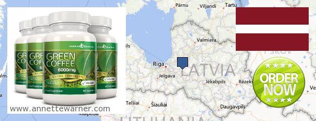 Buy Green Coffee Bean Extract online Latvia