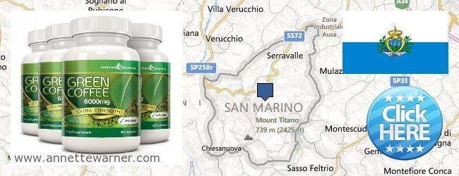Where to Buy Green Coffee Bean Extract online San Marino