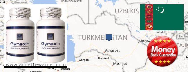 Purchase Gynexin online Turkmenistan