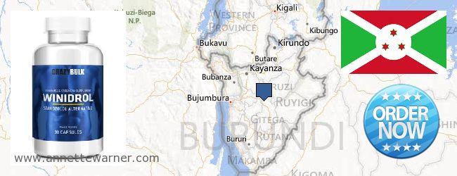 Where to Purchase Winstrol Steroid online Burundi
