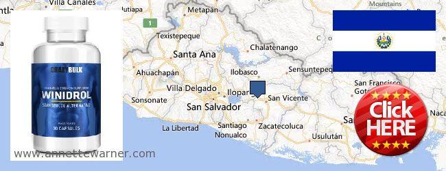 Where to Buy Winstrol Steroid online El Salvador
