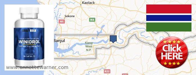 Buy Winstrol Steroid online Gambia