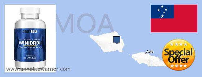 Where to Buy Winstrol Steroid online Samoa