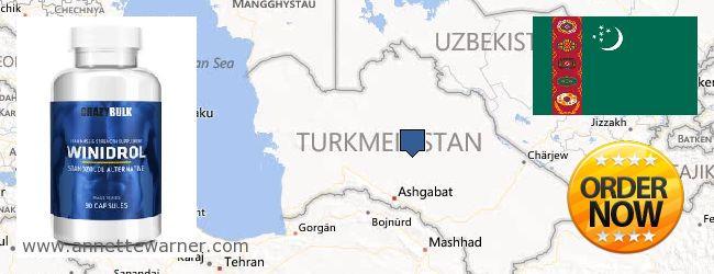 Purchase Winstrol Steroid online Turkmenistan